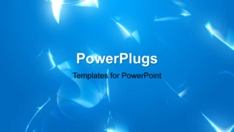 PowerPoint Template - An abstract glares background